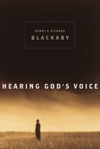 Hearing God's Voice by Blackaby cover