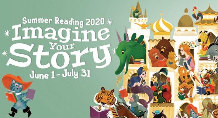 summer reading banner 2020